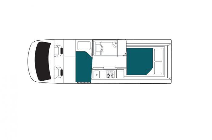 Maui Ultima Plus Night Floor Plan