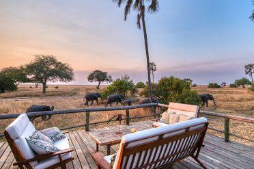 Mbali Mbali Katavi elephants