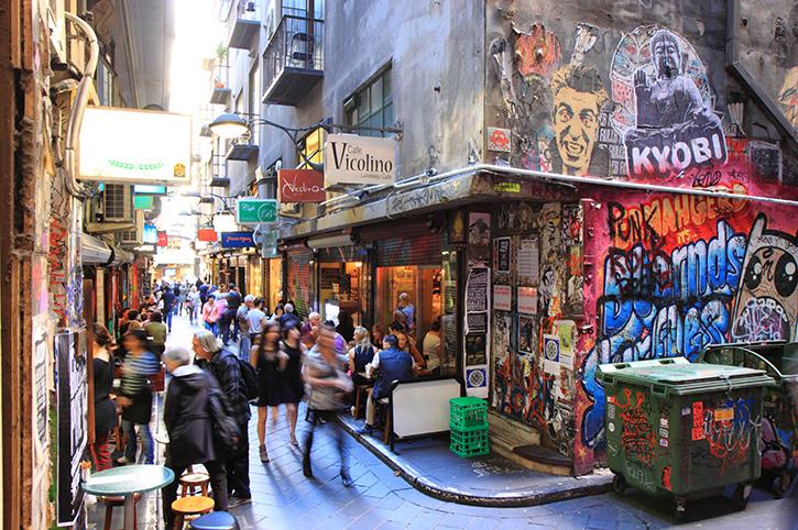 City Streets, Melbourne, Victoria, Australia