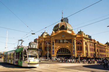 Flinders Street Railway Station, Melbourne, Victoria, Australia