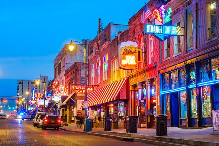 Memphis at Night