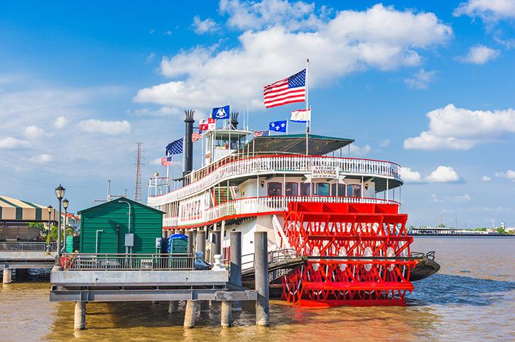 Steamer Natchez, Mississippi River