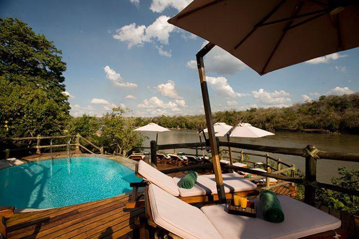 Serena Mivumo Lodge pool deck