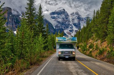 Motorhome holiday in Canada