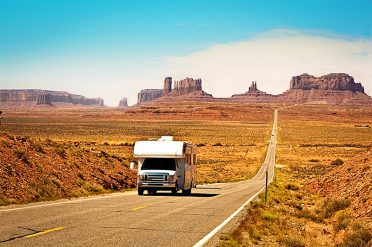 Motorhome, Monument Valley