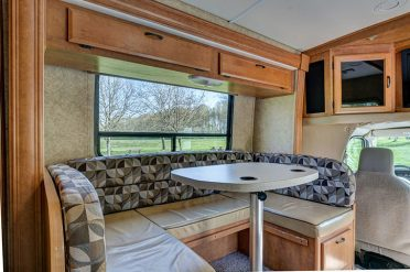 Motorhome Lounge Area