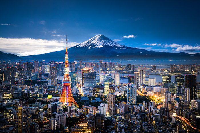 Mount Fuji, Tokyo Skyline