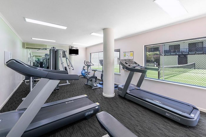 Gym, Nesuto Mounts Bay, Perth