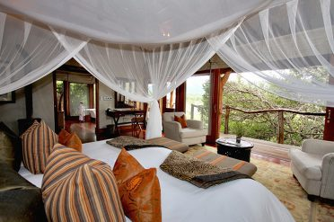 Msenge Bush Lodge Chalet Interior