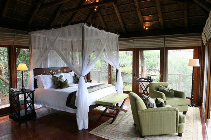 Msenge Bush Lodge Chalet Room