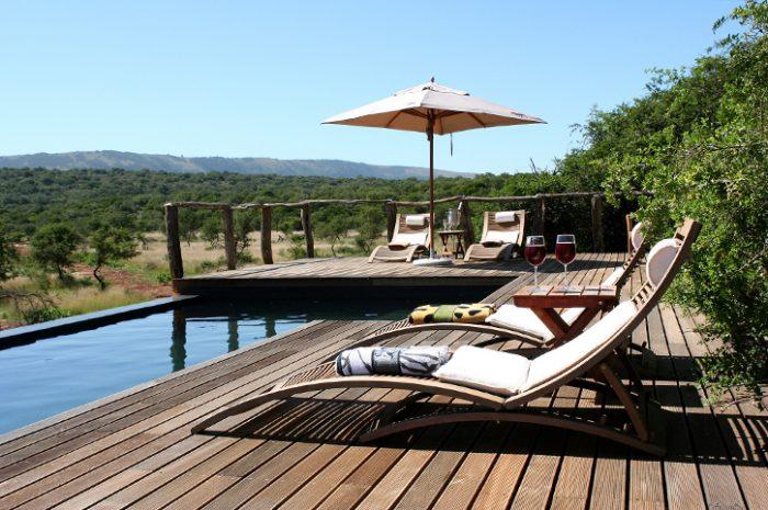 Msenge Bush Lodge Main Pool