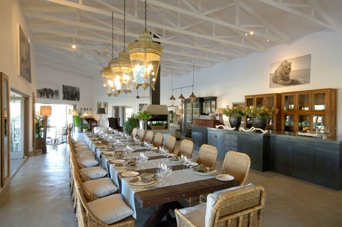 Mushara Outpost Dining Room