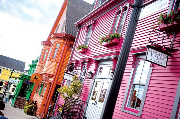 Lunenburg Streetscapes, Nova Scotia, Canada