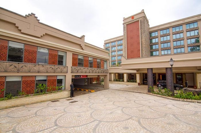 Nairobi Serena Hotel Exterior