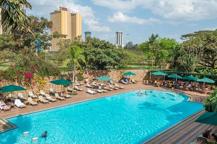 Nairobi Serena Hotel Outdoor Pool