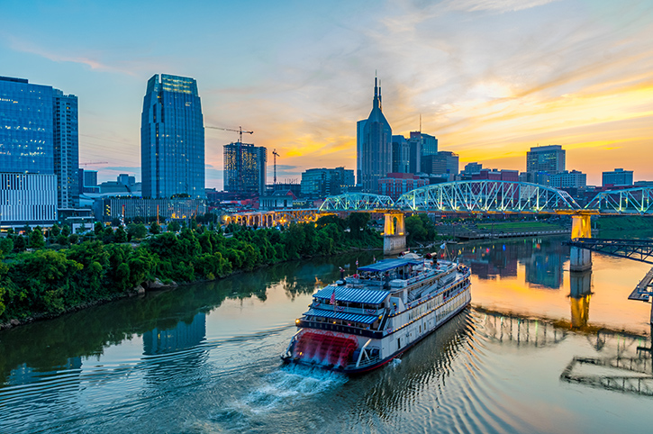 Nashville Skyline, South USA