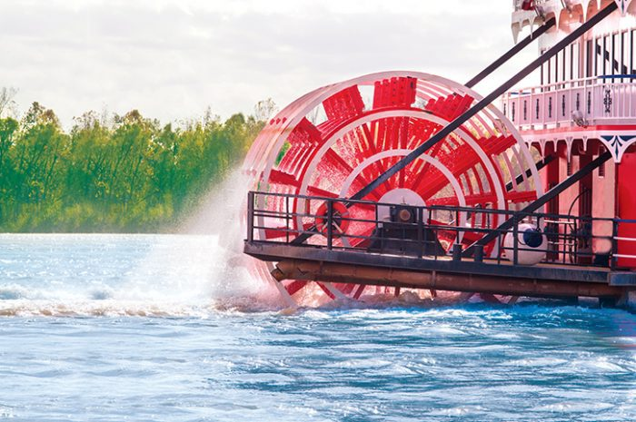New Orleans Round Trip Paddle Wheel