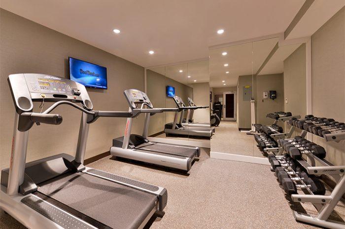 New York Holiday Inn Gym