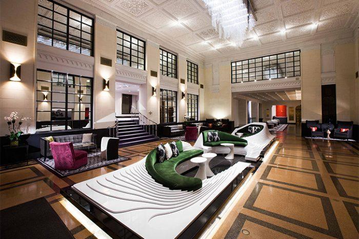 New York Stewart Hotel Lobby