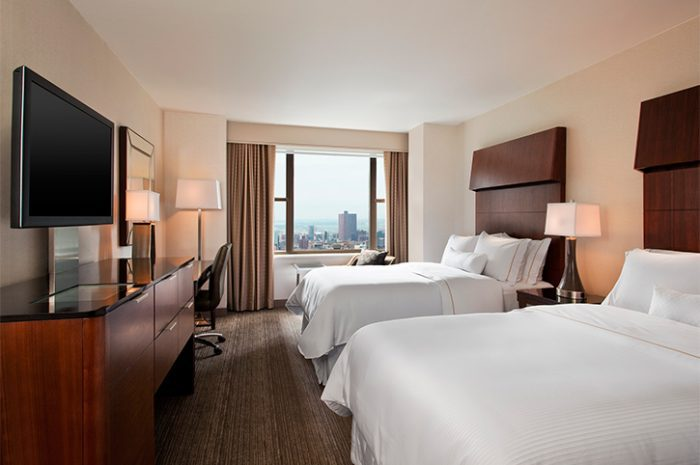 New York Westin Grand Central Double Guestroom