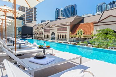 Rooftop Pool, Next Hotel, Brisbane, South Queensland