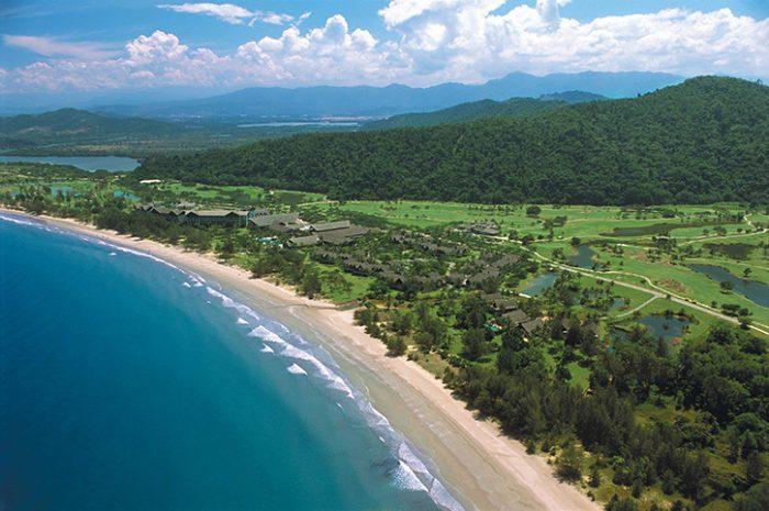 Nexus Resort Aerial View