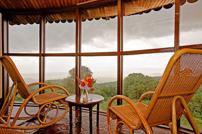 Ngorongoro Sopa enclosed balcony