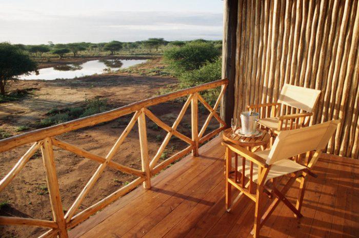 Ngutuni Safari Lodge Private Balcony
