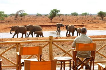 Ngutuni Lodge water hole