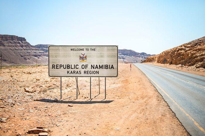 Nomad Tours Entering Namibia