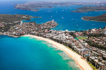 Novotel Manly Aerial