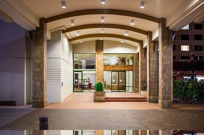 Novote Rotorua Entrance