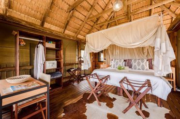 Nthambo Tree Camp Chalet Interior