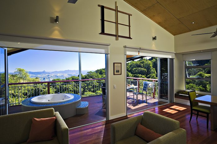 O'Reillys Rainforest Retreat Mountain Villa