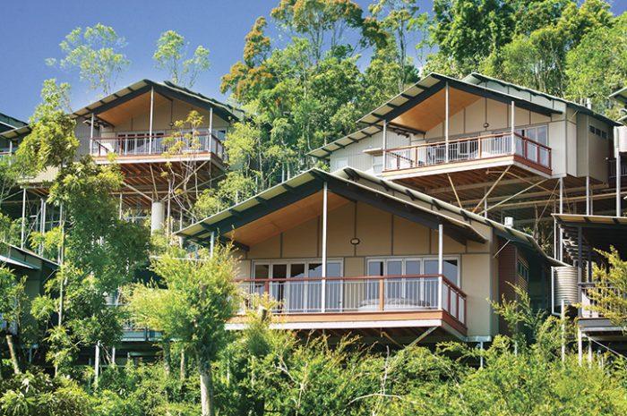 O'Reillys Rainforest Retreat Mountain Villa Exterior