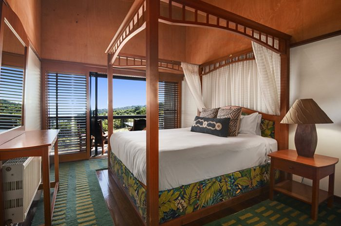 O'Reillys Rainforest Retreat Bedroom