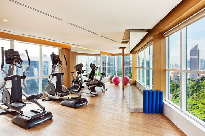 Oasia Suites Gym