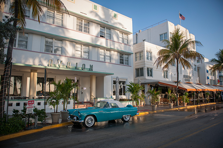 Ocean Drive, Miami, USA