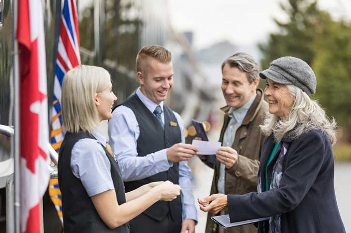 Onboard hosts, Rocky Mountaineer