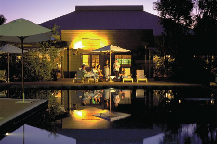 Outback Pioneer Pool Night