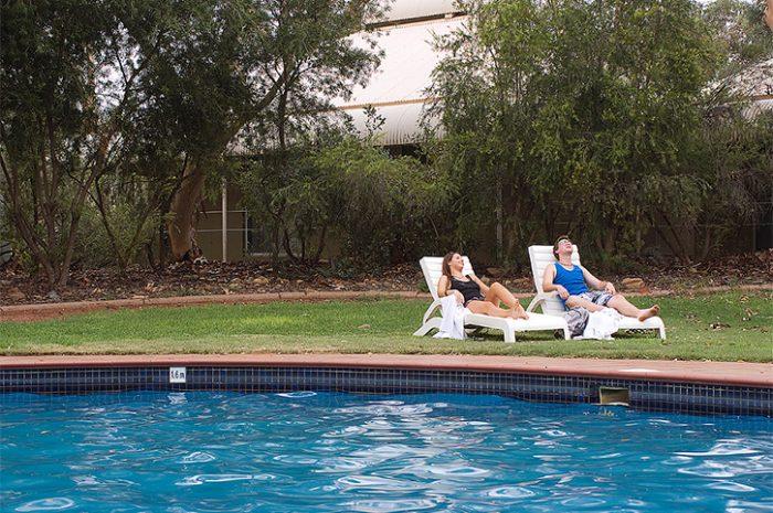 Outback Pioneer Poolside