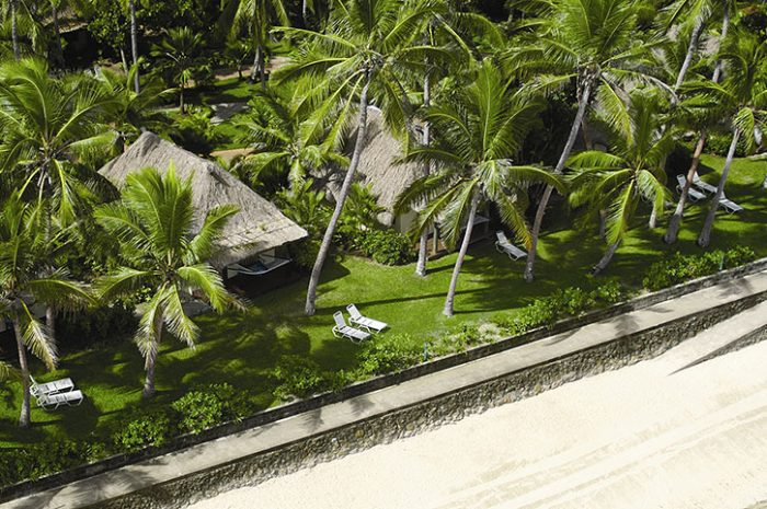 Outrigger Beachfront Aerial View of Bures