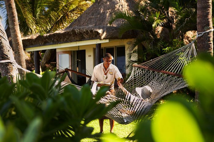 Outrigger Bure and Hammock