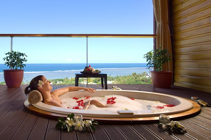 Outrigger Spa Treatment On Open-Air Balcony