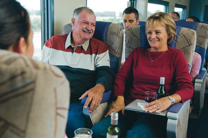 The Overland Train, Adelaide to Melbourne, Australia