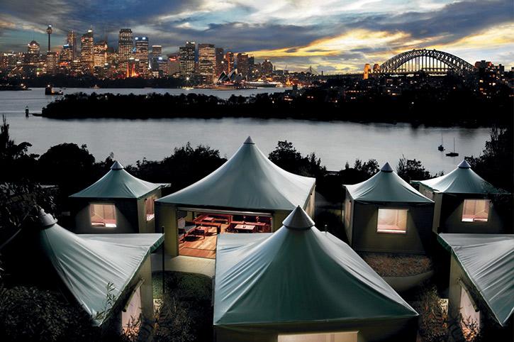 Overnight at Taronga Zoo, Sydney