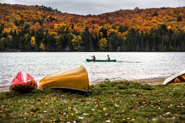 Paddling In The Lakes, Canada