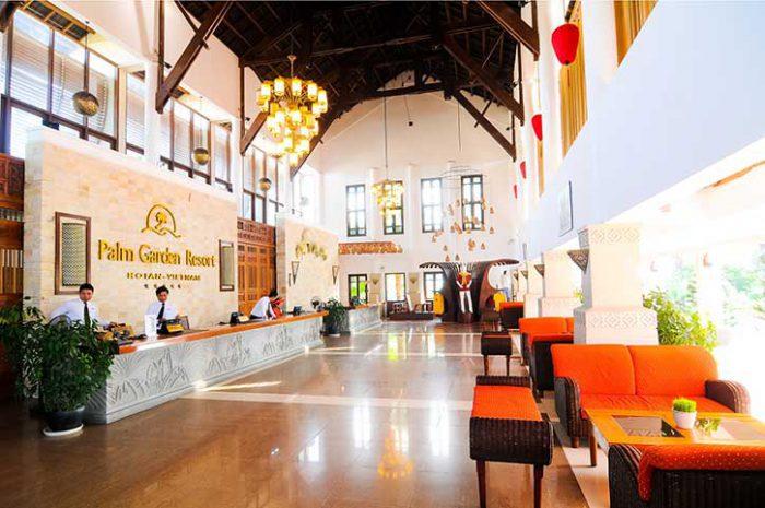 Palm Garden Hoi An Lobby
