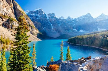 Panorama Of The Rockies, Canada