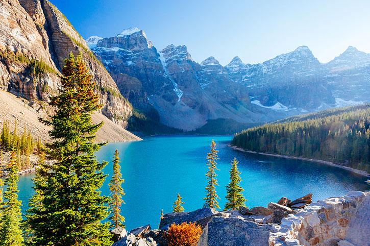 Panorama Of The Rockies, Canada